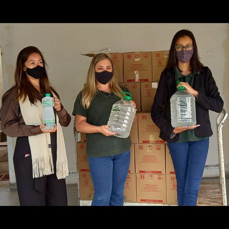 Destilaria Nova Era realiza doação a Santa Casa de São Carlos - Crédito: Divulgação