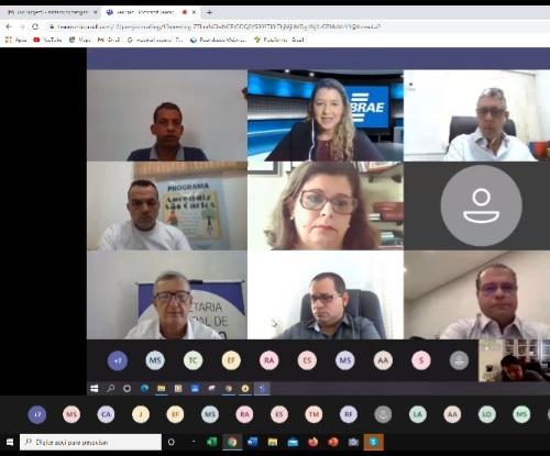 Cerimônia que marca o início dos trabalhos da Sala do Empreendedor aconteceu às 10h de forma virtual - Crédito: Divulgação