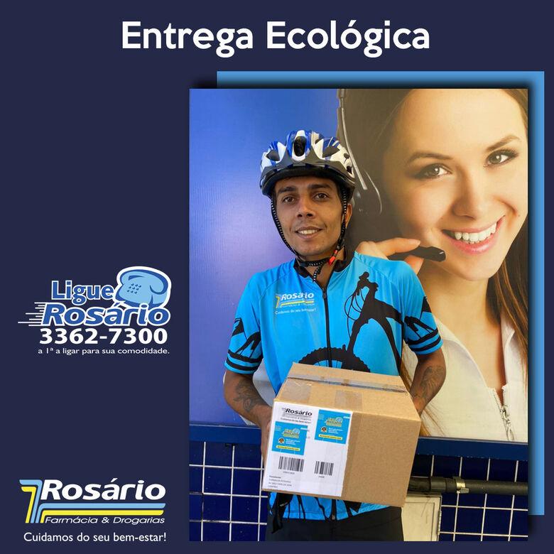 Farmácia Rosário implanta serviço de entrega ecológico -