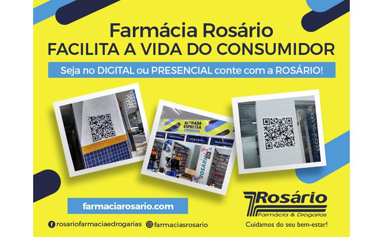 Farmácia Rosário integra meios físicos e digitais e amplia poder de escolha dos seus clientes - Crédito: Divulgação