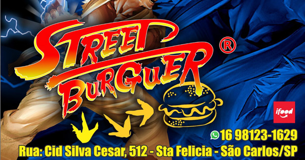 Santa Felícia ganha lanchonete inspirada no game Street Fighter -