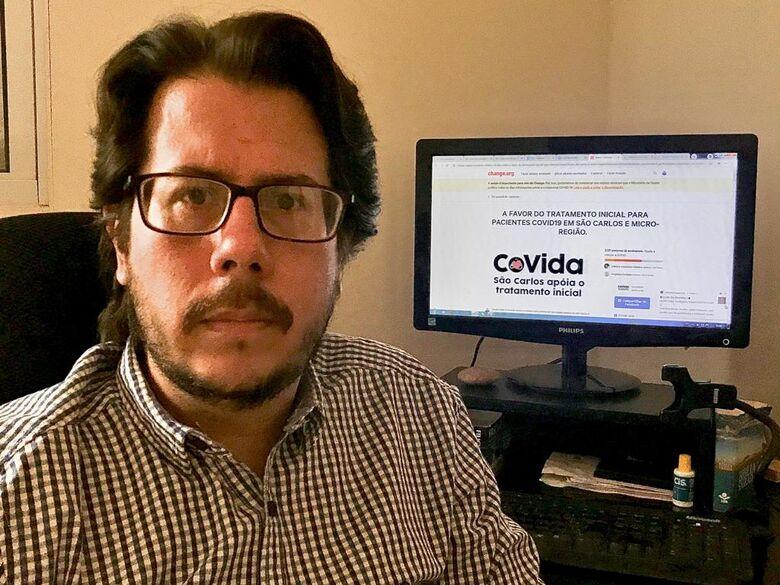 Para Daniel Lima, tratamento precoce da Covid-19 iria ajudar pacientes diagnosticados na fase inicial da infecção - Crédito: Divulgação
