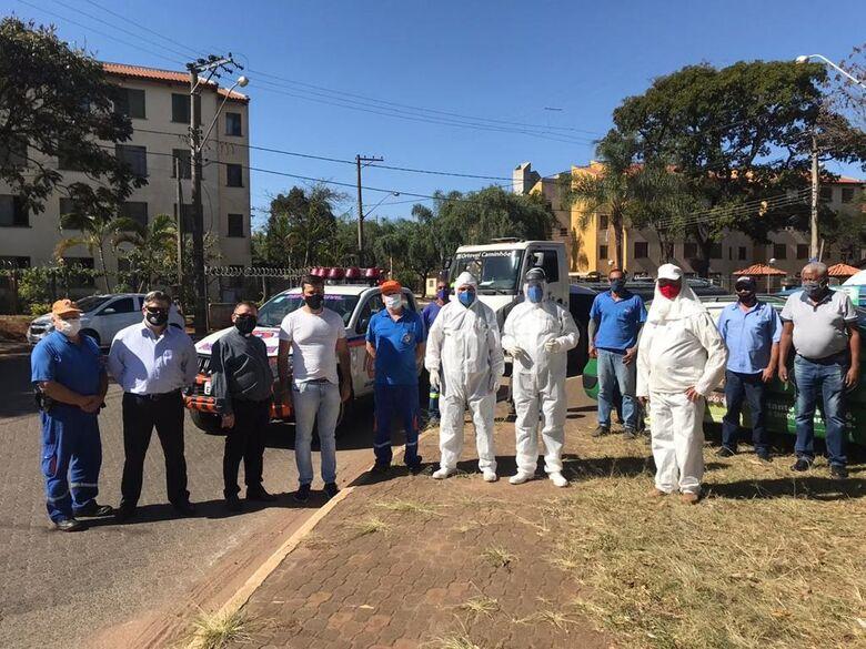 Vereador Rodson solicita desinfecção imediata no CDHU em São Carlos - Crédito: divulgação