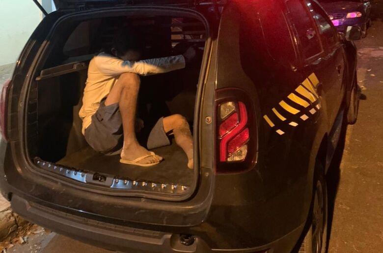 Procurado por vários crimes é preso pela GM de Ibaté -