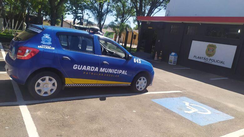 Guarda Municipal realizou a prisão da dupla após tentativa de furto - Crédito: Maycon Maximino