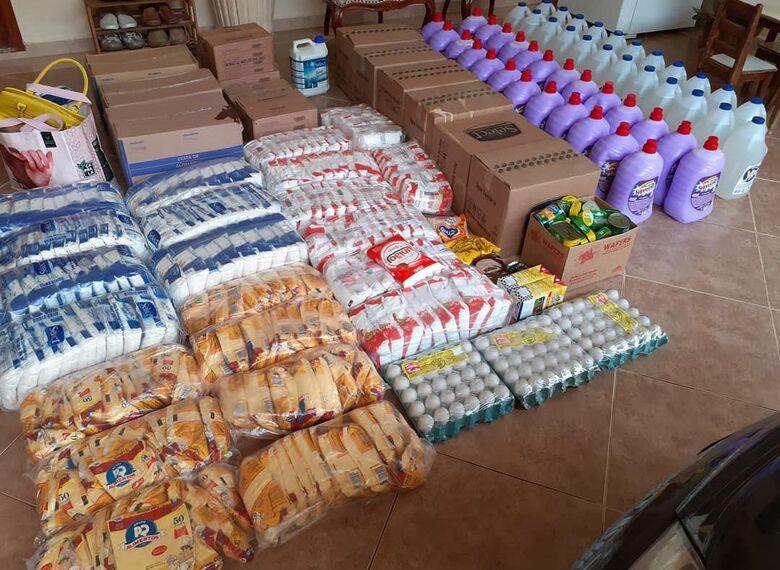 Projeto Nós já arrecadou mais de 10 toneladas de alimentos - Crédito: Divulgação