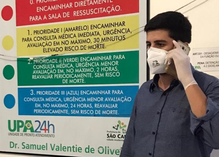 Vereador Bruno Zancheta destina emenda parlamentar para aquisição de EPIs para a saúde -