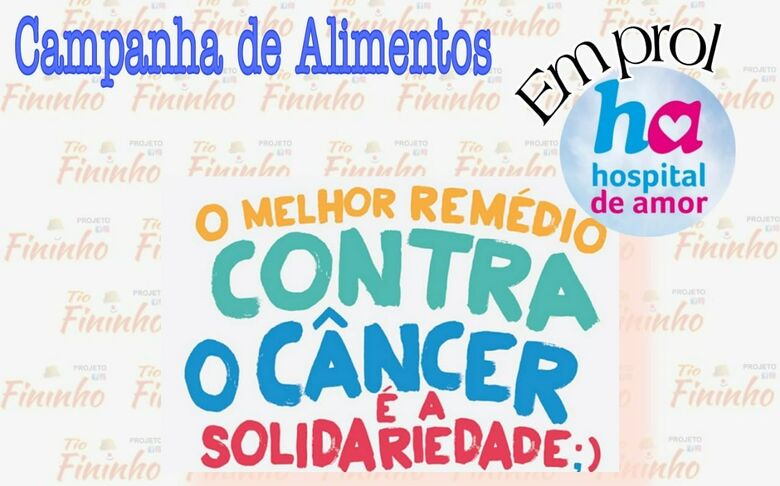 Campanha irá ajudar o Hospital de Amor de Barretos - Crédito: Divulgação