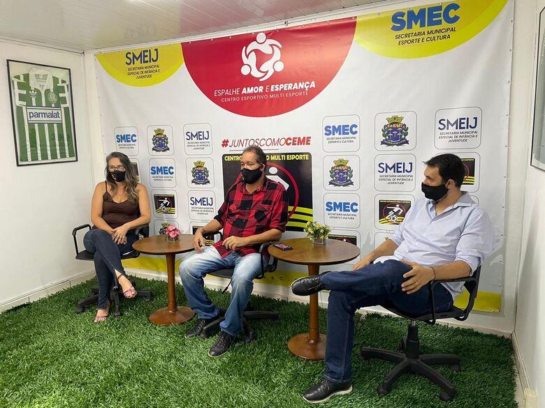 Secretarias municipais e CE Multi esporte lançam projeto social - Crédito: Divulgação