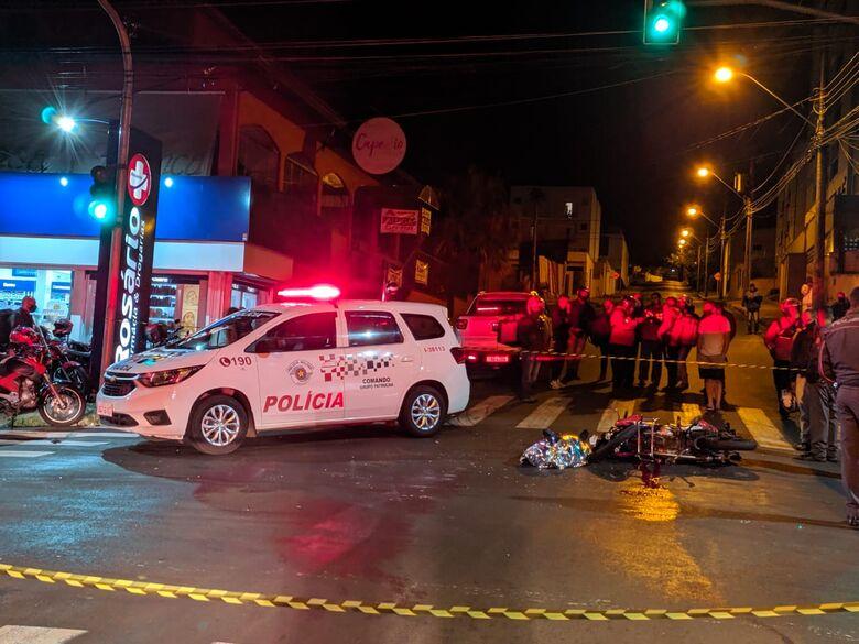 Cruzamento onde ocorreu o acidente fatal. - Crédito: Maycon Maximino