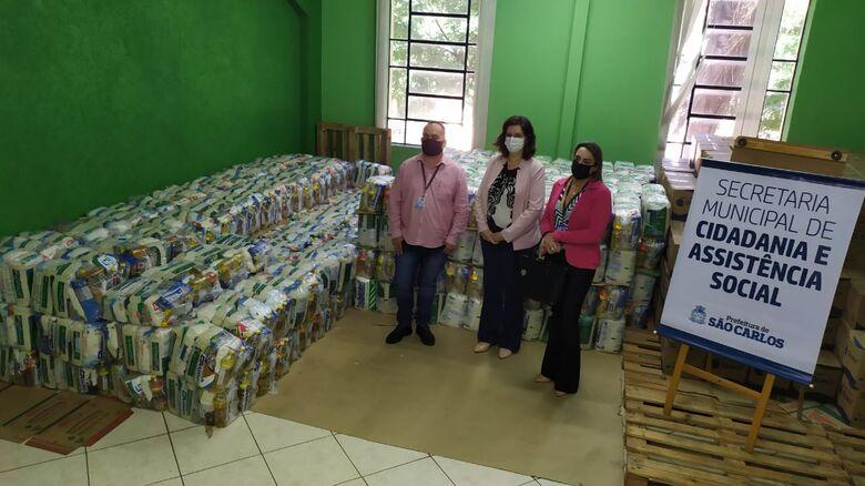 Thyago Henrique Genari   Graziela Cristiane Solfa Marques   e Ana Paula Grosso - Crédito: Maycon Maximino