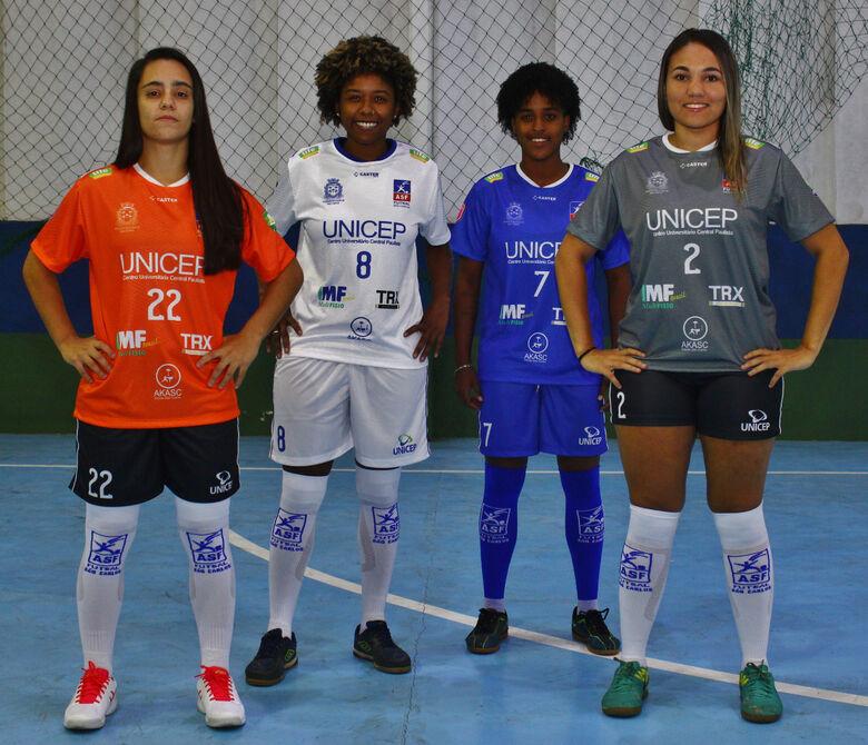 Futsal feminino de São Carlos estreia na Liga Paulista - Crédito: Divulgação