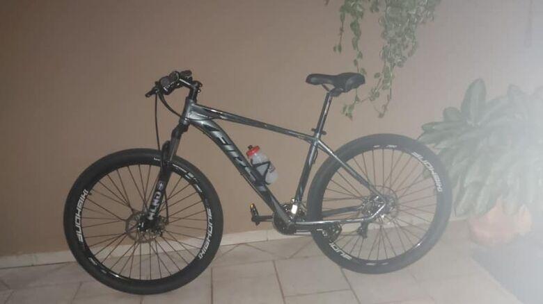 A bike furtada na região da Rodoviária - Crédito: Divulgação