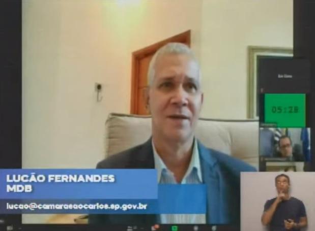 """""""Coronavírus vem pra destruir"""", diz Lucão Fernandes - Crédito: reprodução"""
