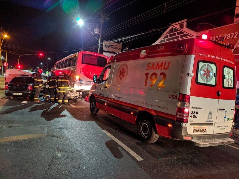 Acidente na avenida Bruno Ruggiero Filho aconteceu na noite de terça-feira - Crédito: Maycon Maximino