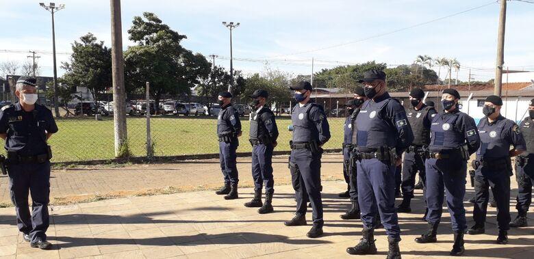 Treinamento de armamento e tiro é realizado pela Guarda Municipal de São Carlos - Crédito: divulgação