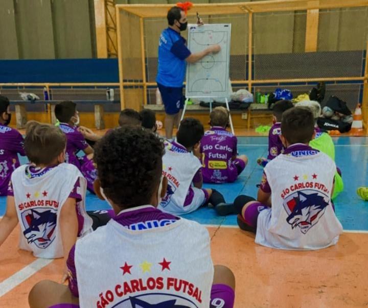 No segundo semestre, São Carlos Futsal espera estar participando de eventos esportivos - Crédito: Marcos Escrivani