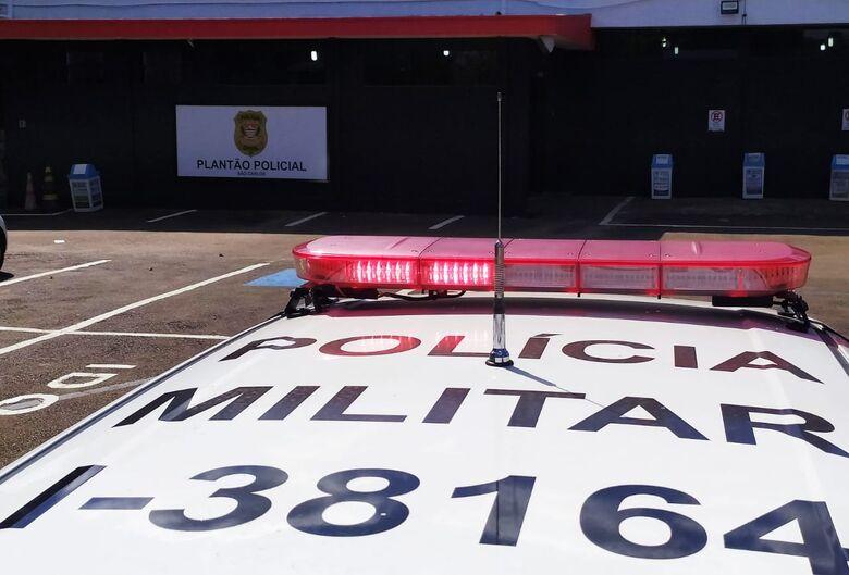 Suspeito foi detido e encaminhado ao plantão - Crédito: Arquivo/São Carlos Agora