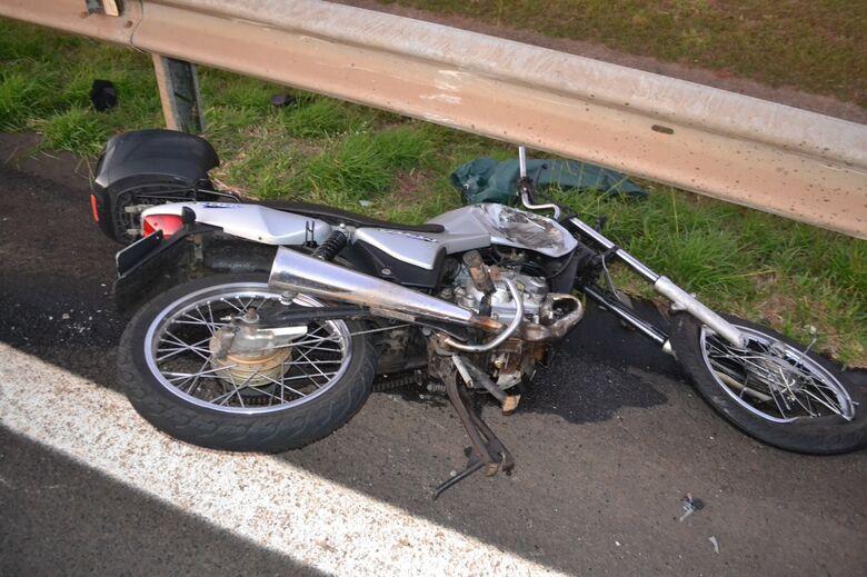 Motociclista morre em acidente na Washington Luis - Crédito: Matão Urgente