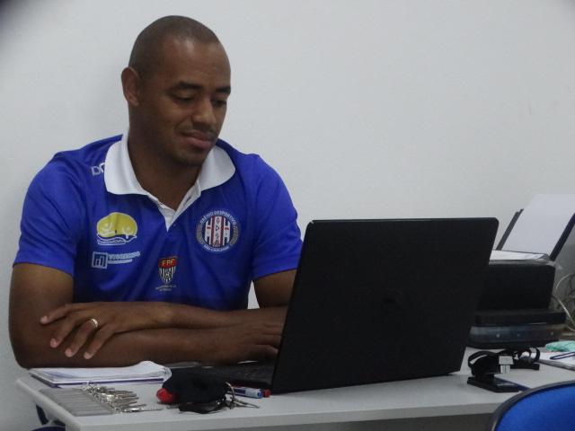 Marcus Vinícius disse que a reapresentação dos atletas deve ocorrer na segunda quinzena de junho - Crédito: Marcos Escrivani