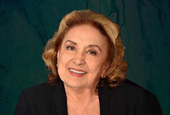 A atriz Eva Wilma, sucesso que começou em Mulheres de Areia na TV Tupi - Crédito: divulgação