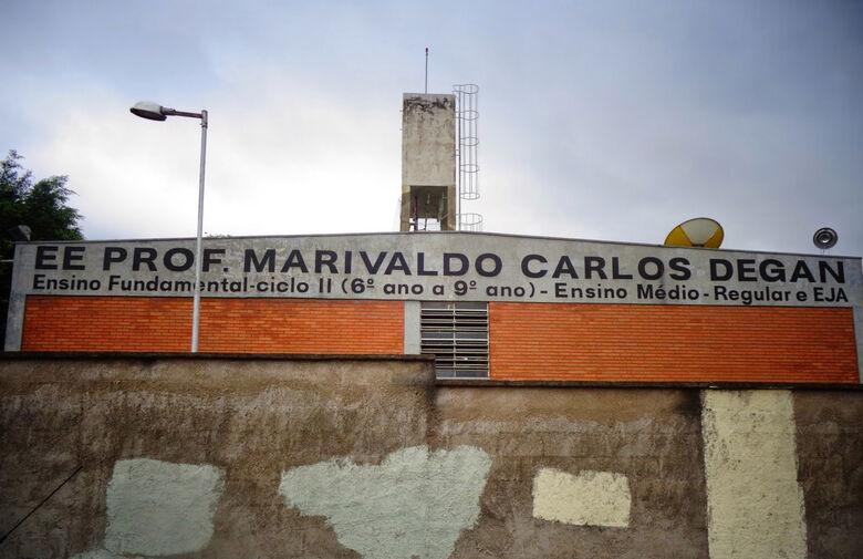 Escola Marivaldo Carlos Degan - Crédito: divulgação