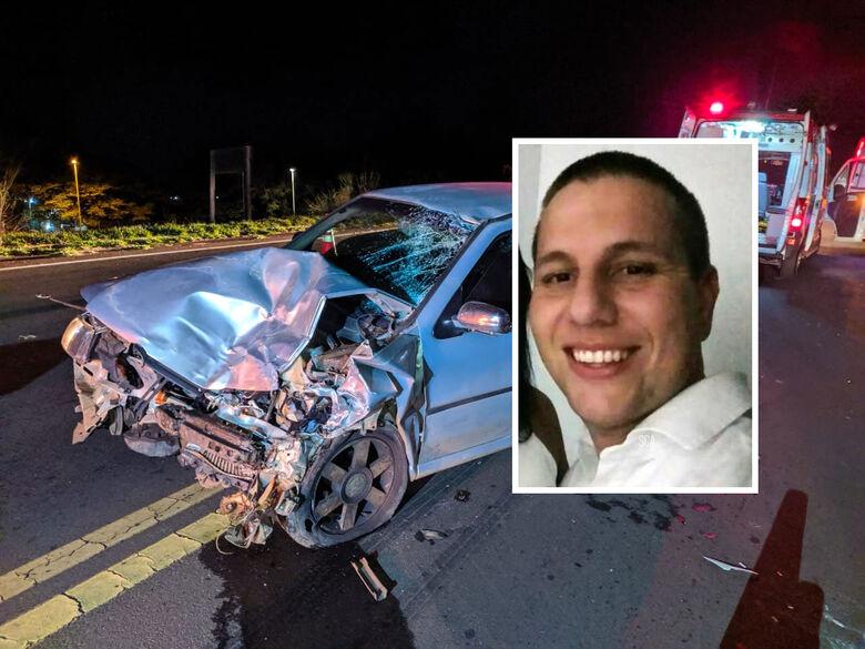 Morre PM que teve moto atingida por carro na SP-215; motorista foi preso - Crédito: Maycon Maximino