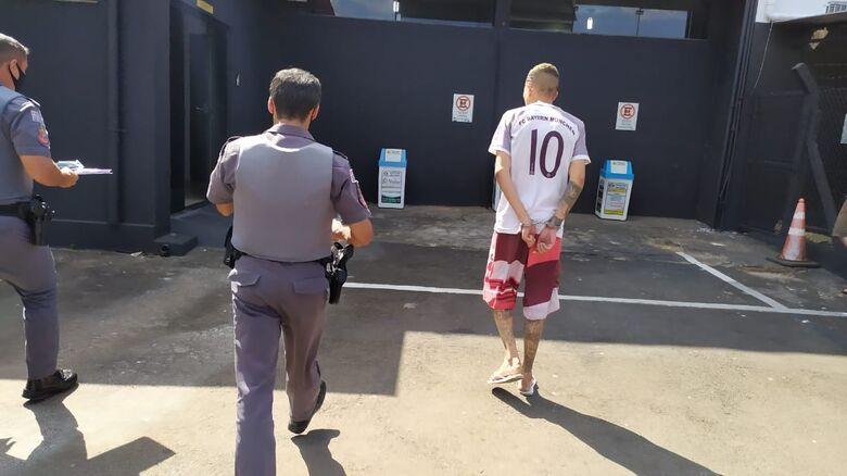 W.A.S. acabou detido: era procurado por tráfico - Crédito: Maycon Maximino
