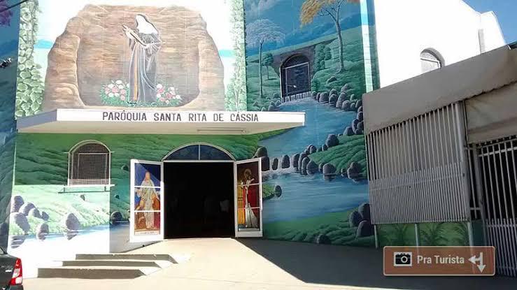 Paróquia de Santa Rita de Cássia está localizada no Jardim Santa Felícia - Crédito: Divulgação
