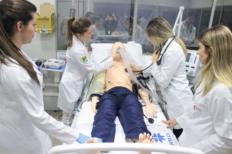 O Centro de Simulação Realística é uma das estruturas do IEP a que os alunos do Curso Técnico de Enfermagem terão acesso - Crédito: Divulgação