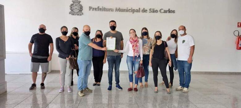 Rodson participou de uma reunião com o Comitê de Segurança e Vigilância Sanitária de São Carlos - Crédito: Divulgação