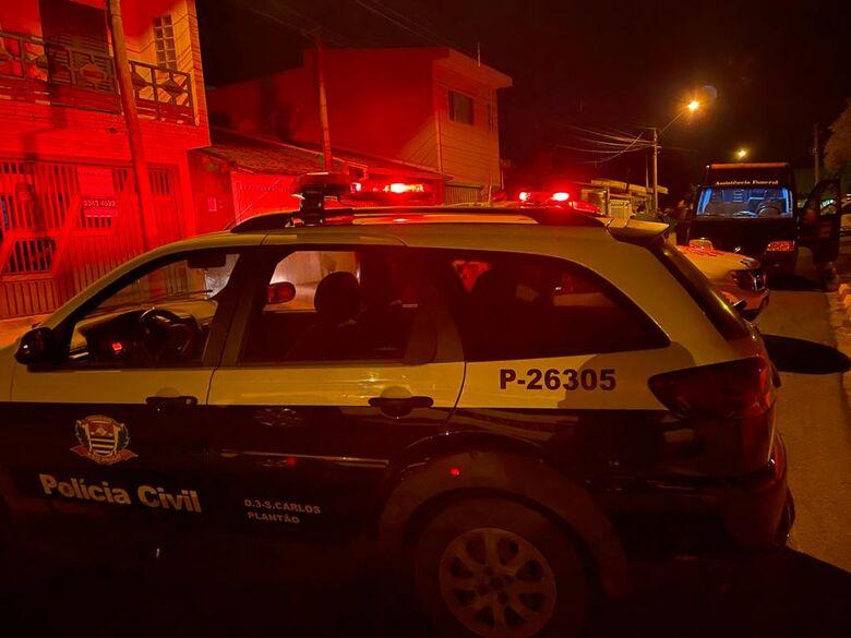 Sábado terminou de maneira trágica em Ibaté, com a execução de um auxiliar geral - Crédito: Maycon Maximino