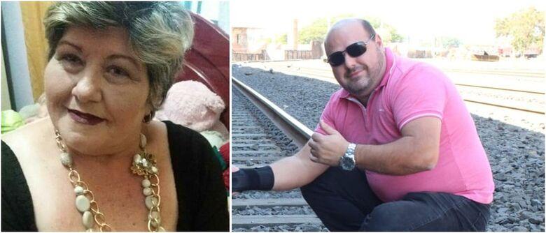 Mãe e filho morreram em um intervalo de 1 dia - Crédito: arquivo pessoal