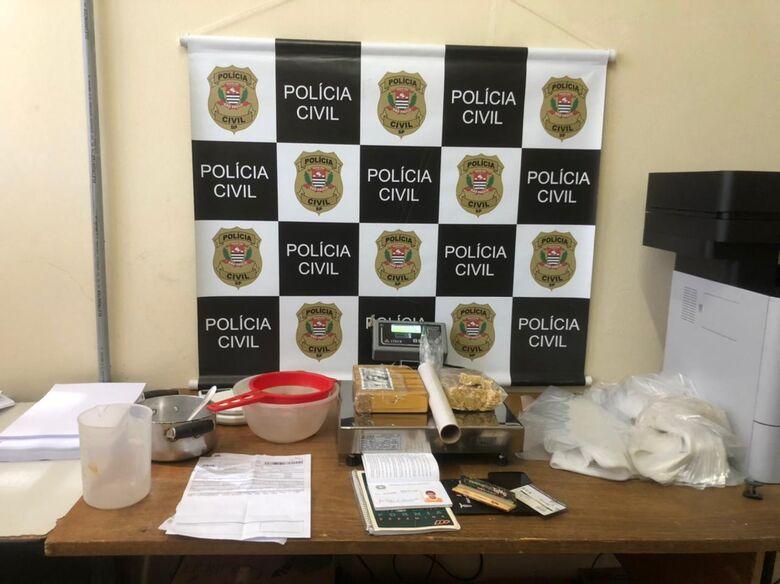 Polícia Civil prende acusado de tráfico em Porto Ferreira - Crédito: divulgação