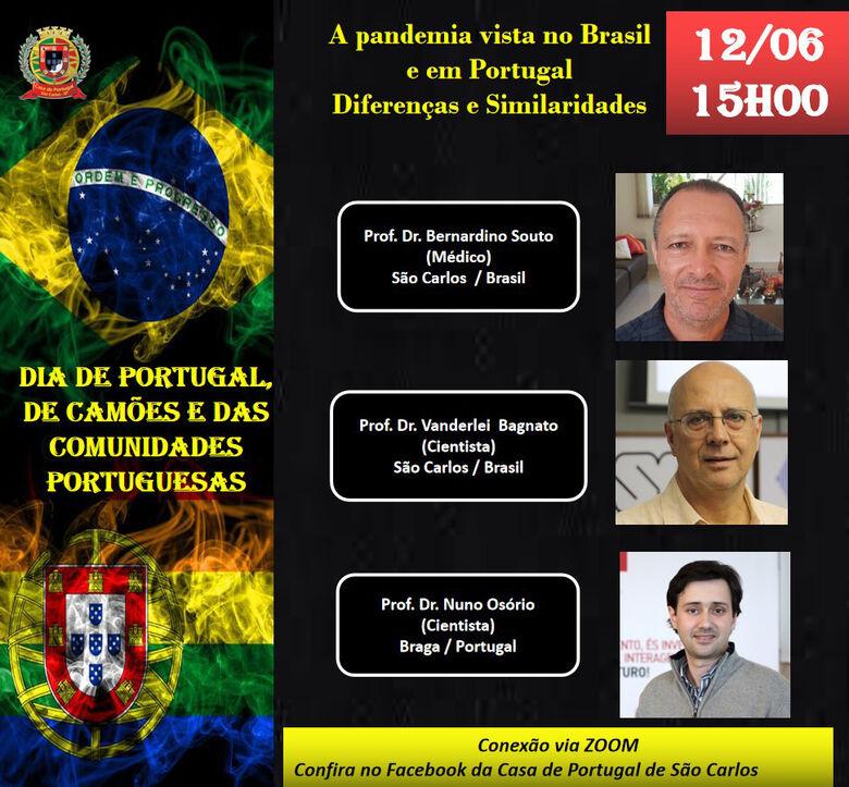 """""""Dia de Portugal"""" tem comemoração em São Carlos - Crédito: Divulgação"""