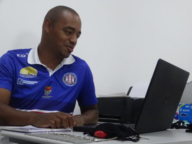 Na análise de Marcus Vinícius os dois meses de treinos que terão pela frente até a primeira rodada da Série B é um tempo considerado valioso - Crédito: Marcos Escrivani