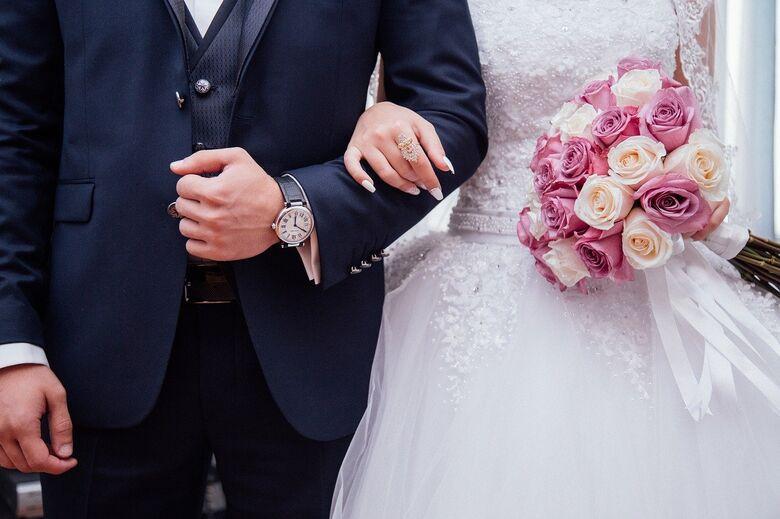 Número de casamentos caiu 27% no ano passado no estado de São Paulo - Crédito: Imagem de StockSnap por Pixabay