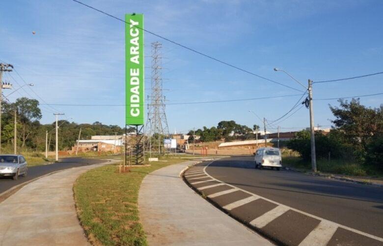 Entrada do bairro Cidade Aracy em São Carlos - Crédito: divulgação