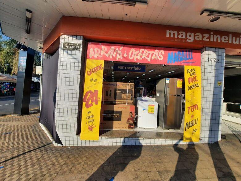 Arraial de ofertas no Magalu São Carlos - Crédito: divulgação