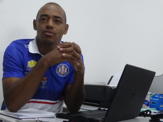 Marcus Vinícius aguarda jogadores do Lobo: início da temporada da Série B - Crédito: Marcos Escrivani