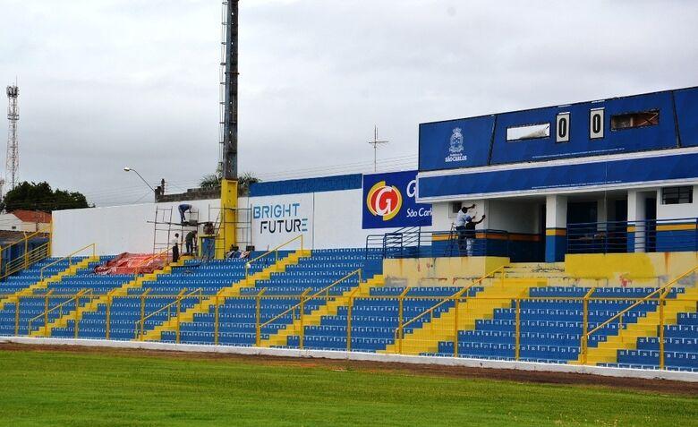 Estádio do Luisão - Crédito: arquivo pessoal