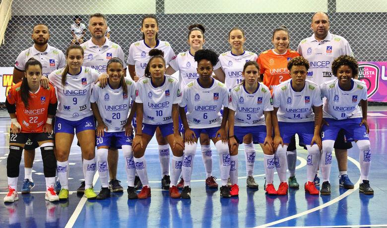 Em jogo amistoso, o time são-carlense foi derrotado pelas jauenses por 7 a 0 - Crédito: Zé Sergio
