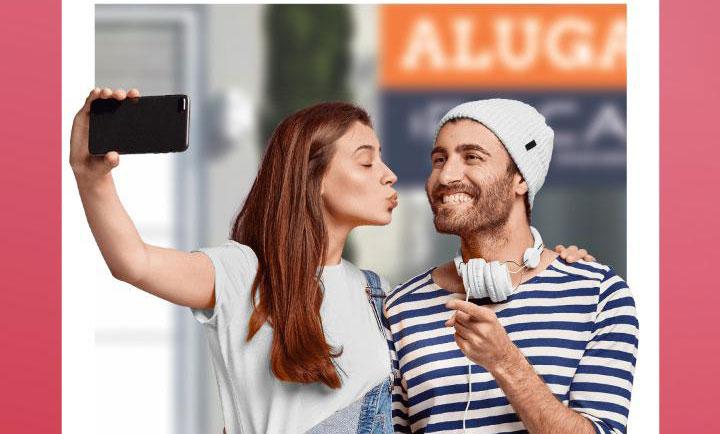 No mês dos namorados a Roca Imóveis sorteia 1.000 reais e um jantar - Crédito: divulgação