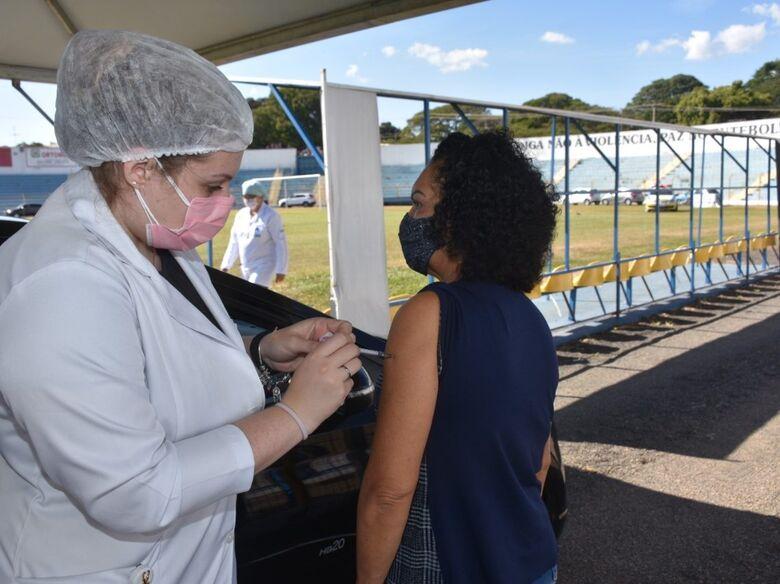 Luisão: posto volante de vacinação contra a Covid-19, deverá ser utilizado também para jogos da Série B - Crédito: Divulgação