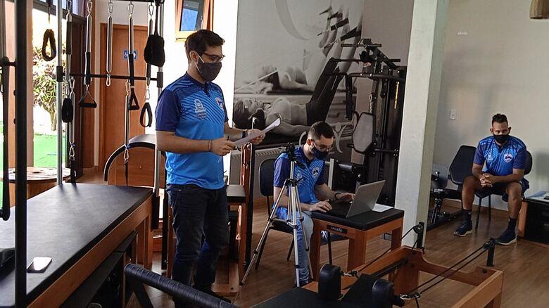 Na visão de Rafael, iniciativa do São Carlos Futsal buscar profissionais para oferecer atividades com o intuito de prevenir lesões nos atletas é louvável - Crédito: Marcos Escrivani