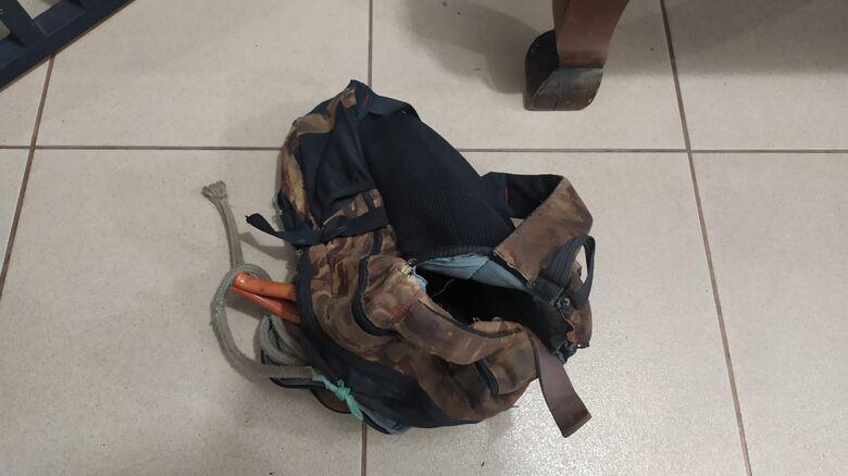A sucata que foi furtada pelo reciclador - Crédito: Divulgação