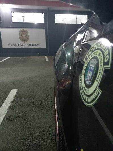 Acusado de furto foi detido pela GM - Crédito: Divulgação