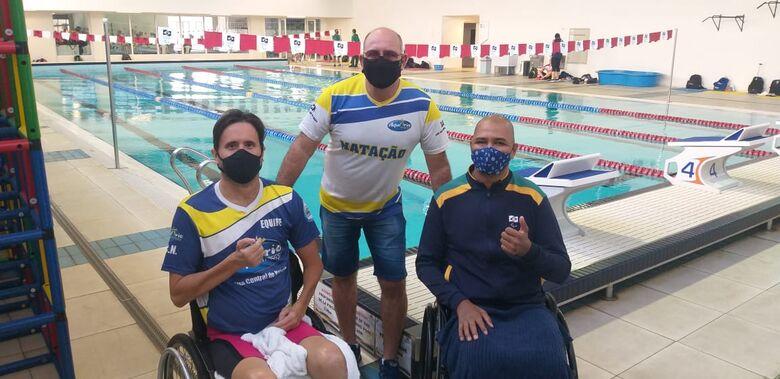 José Ronaldo, Mitcho e Ronystony: equipe são-carlense terá dois representantes da Paralimpíadas de Tóquio - Crédito: Divulgação