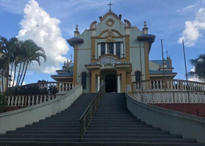 Caminho oficial da fé no município sai da Catedral até o Santuário de Aparecidinha da Babilônia - Crédito: Divulgação