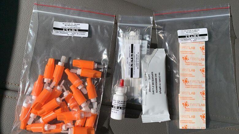 Três mil testes contra a Covid-19 serão feitos gratuitamente em Ibaté - Crédito: Marcos Escrivani